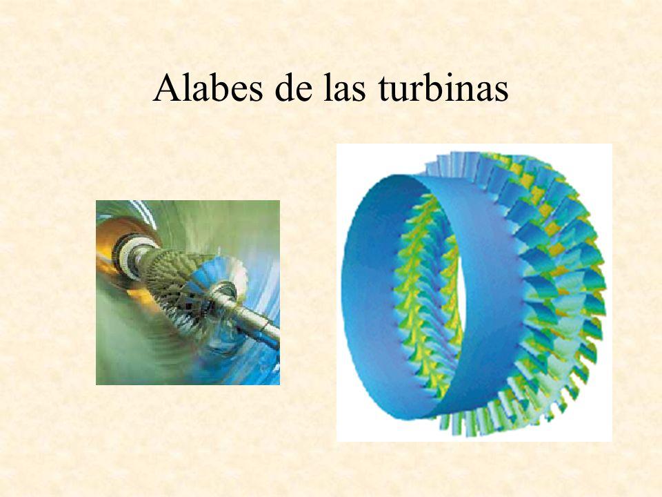Alabes de las turbinas