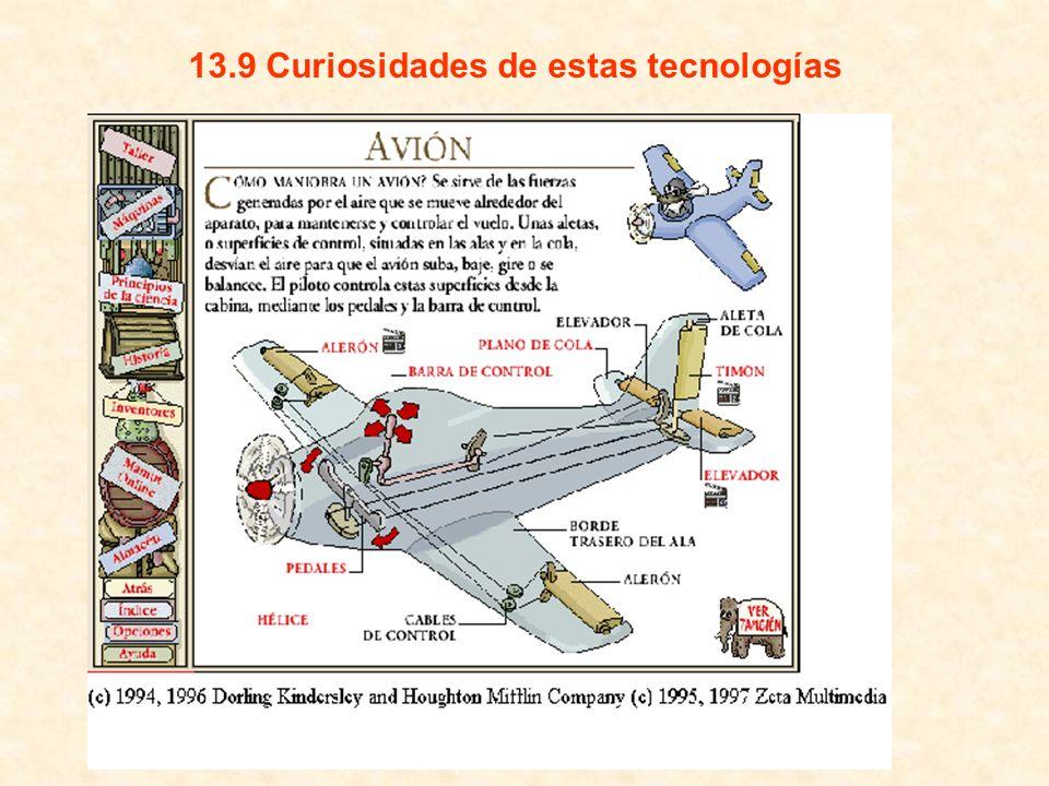 13.9 Curiosidades de estas tecnologías