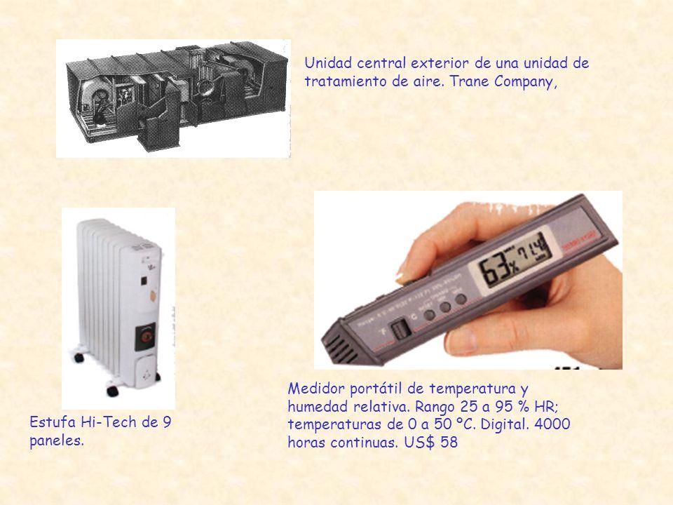 Unidad central exterior de una unidad de tratamiento de aire