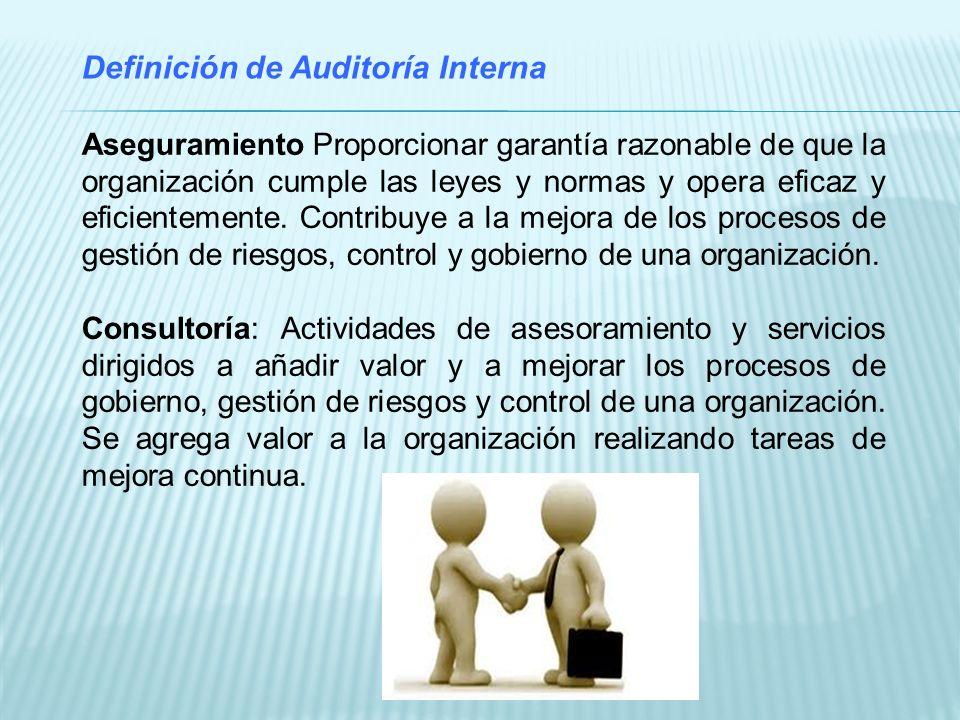Definición de Auditoría Interna