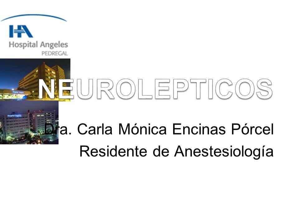 Dra. Carla Mónica Encinas Pórcel Residente de Anestesiología