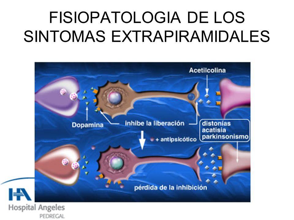 FISIOPATOLOGIA DE LOS SINTOMAS EXTRAPIRAMIDALES