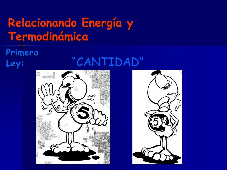 Relacionando Energía y Termodinámica
