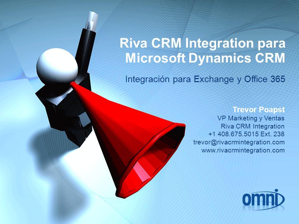 Riva CRM Integration para Microsoft Dynamics CRM