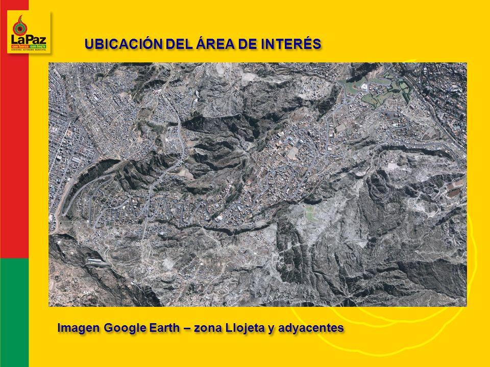 UBICACIÓN DEL ÁREA DE INTERÉS