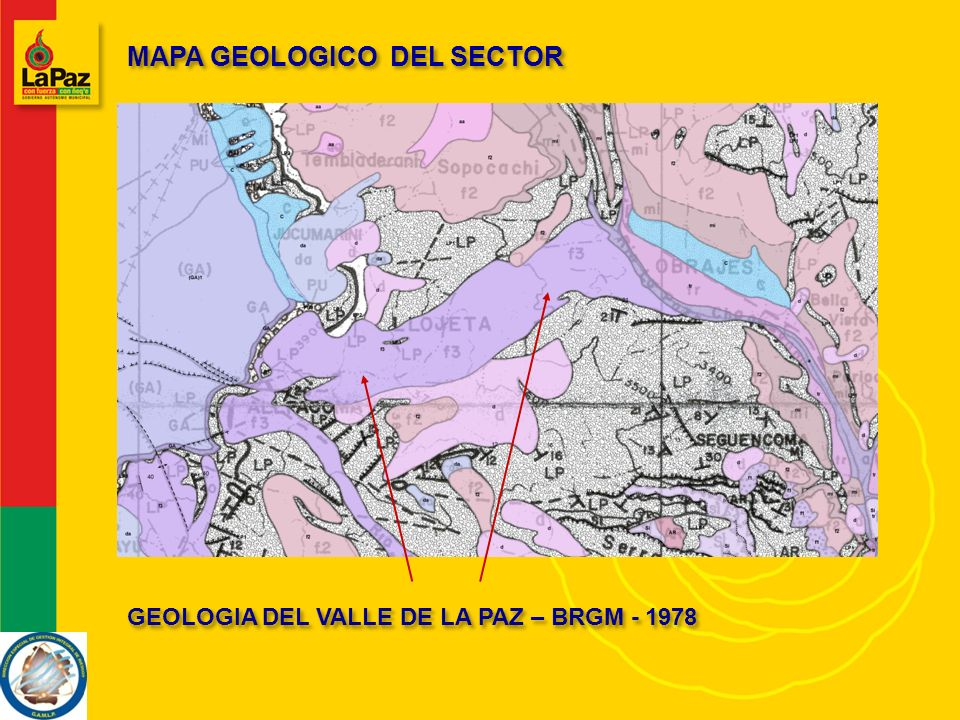 MAPA GEOLOGICO DEL SECTOR