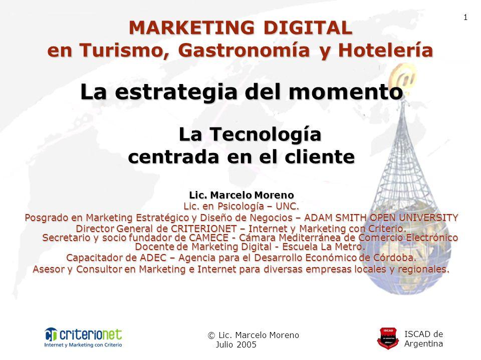 MARKETING DIGITAL en Turismo, Gastronomía y Hotelería