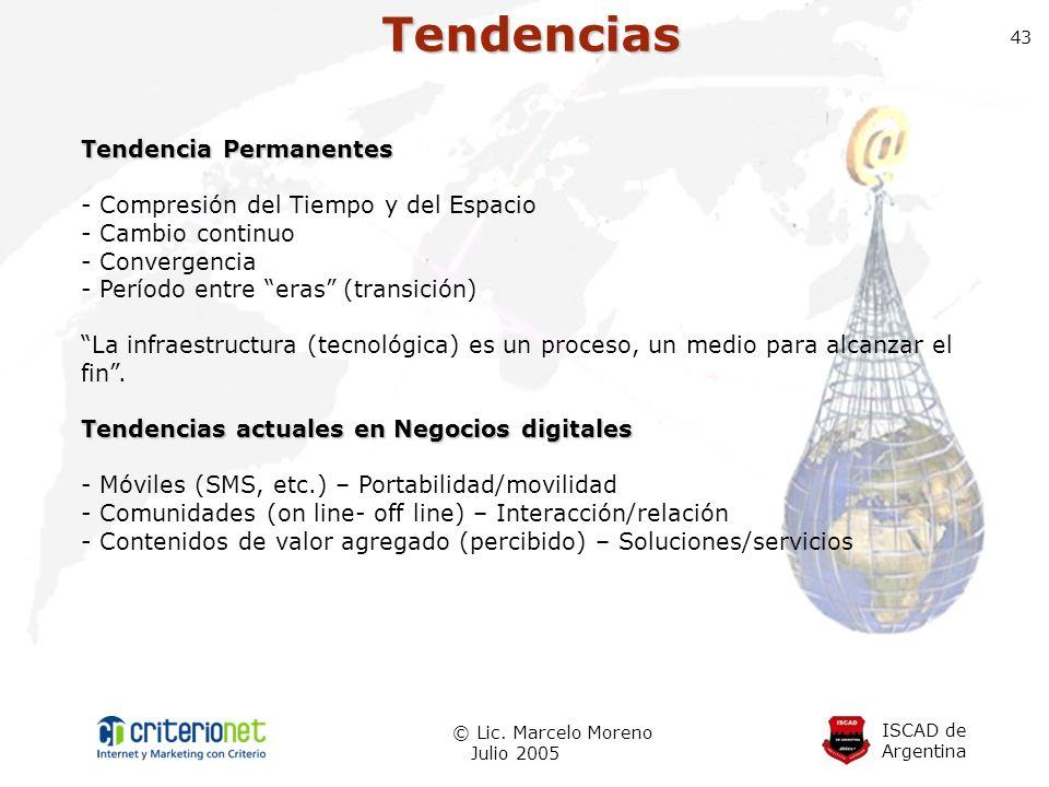 Tendencias Tendencia Permanentes - Compresión del Tiempo y del Espacio