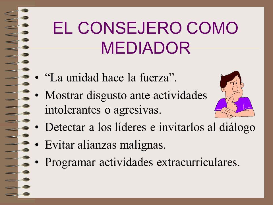 EL CONSEJERO COMO MEDIADOR