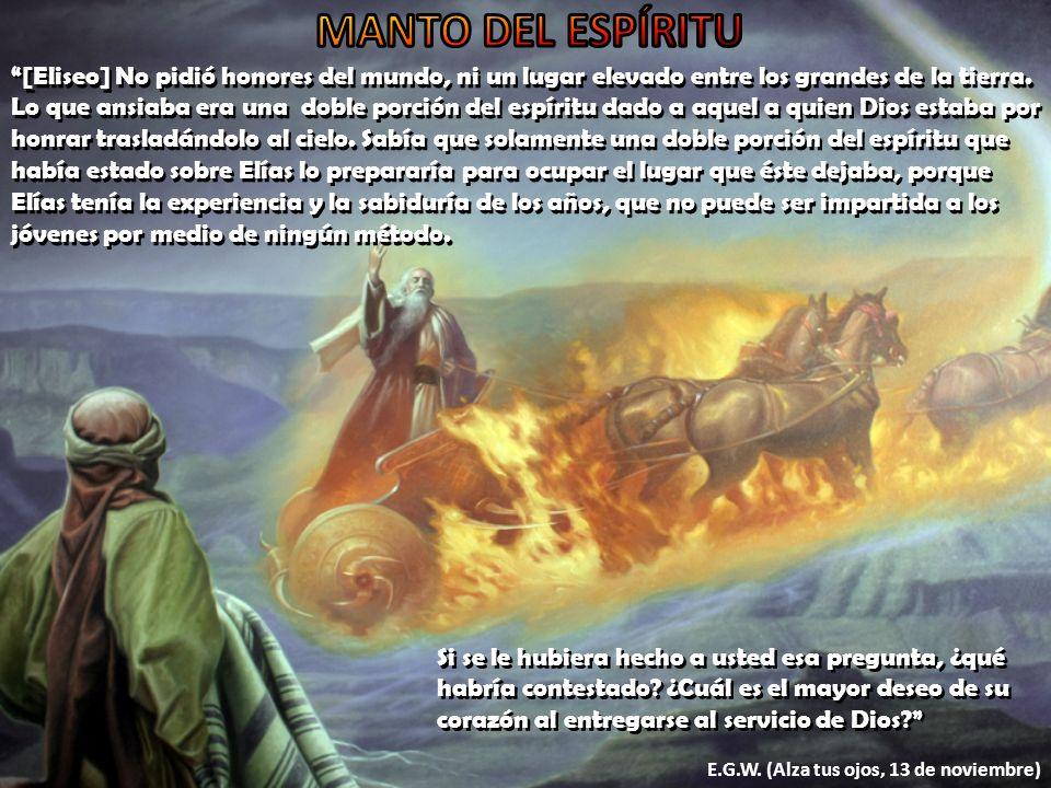 MANTO DEL ESPÍRITU