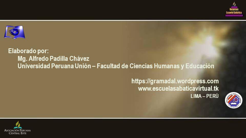 Mg. Alfredo Padilla Chávez
