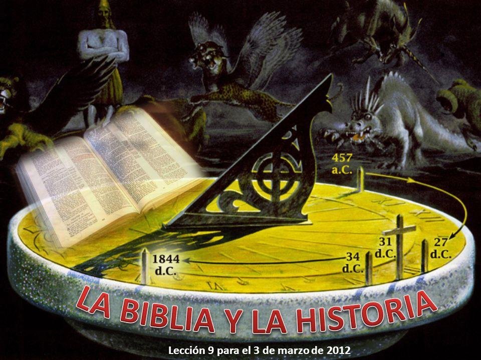 Lección 9 para el 3 de marzo de 2012