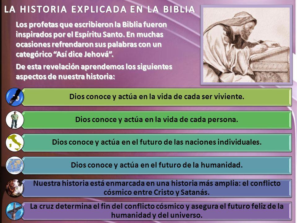 LA HISTORIA EXPLICADA EN LA BIBLIA