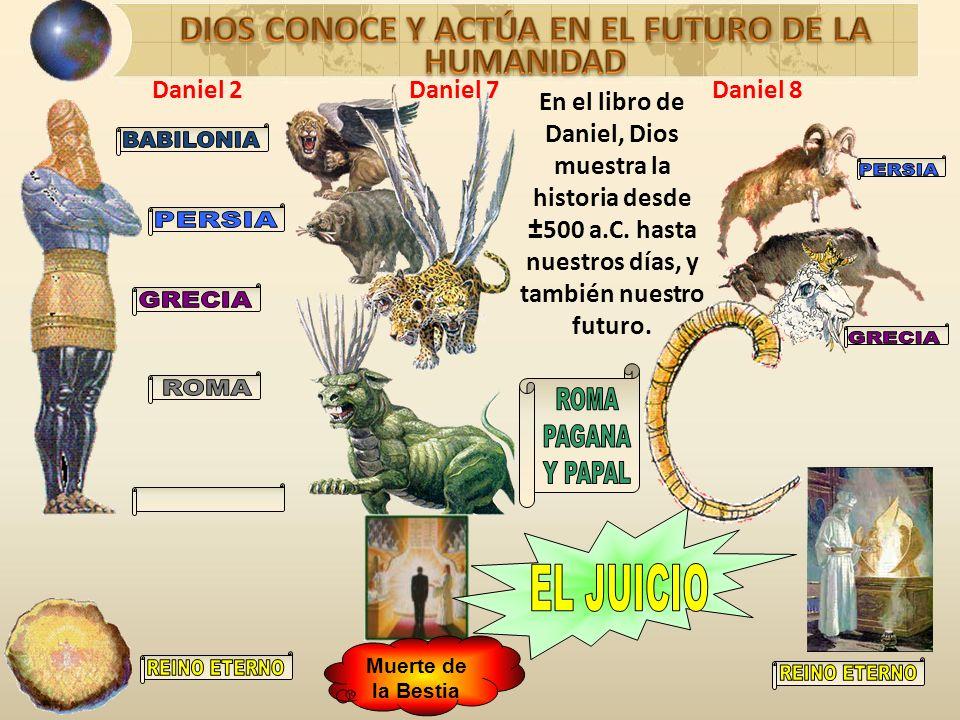 DIOS CONOCE Y ACTÚA EN EL FUTURO DE LA HUMANIDAD