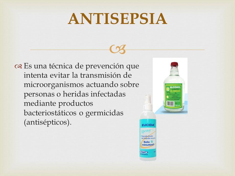 ANTISEPSIA
