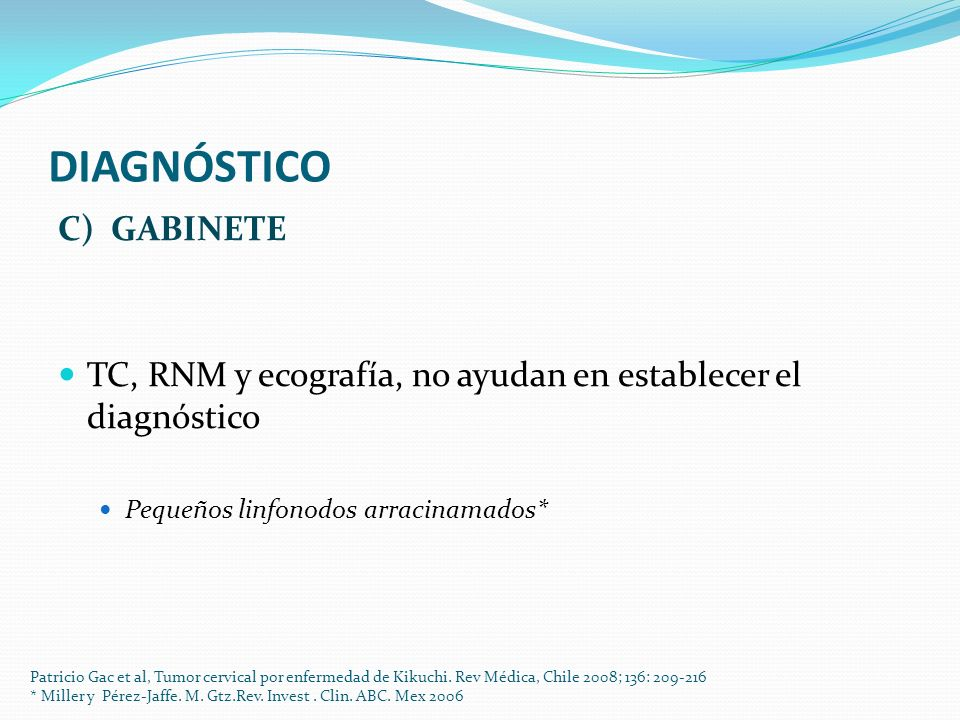 DIAGNÓSTICO C) GABINETE