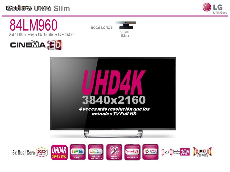 84LM960 UHD4K 340W 3840 x 2160 Serie 9 Ultra Slim accesorios