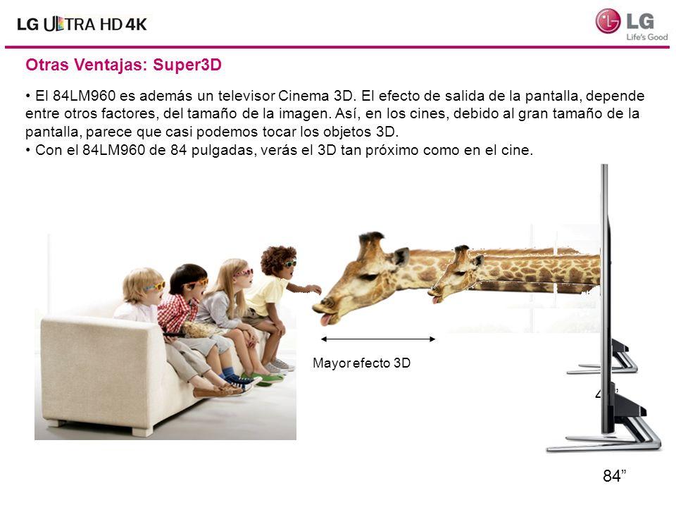 Otras Ventajas: Super3D