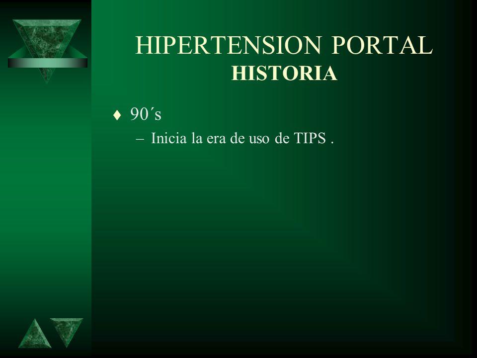 HIPERTENSION PORTAL HISTORIA