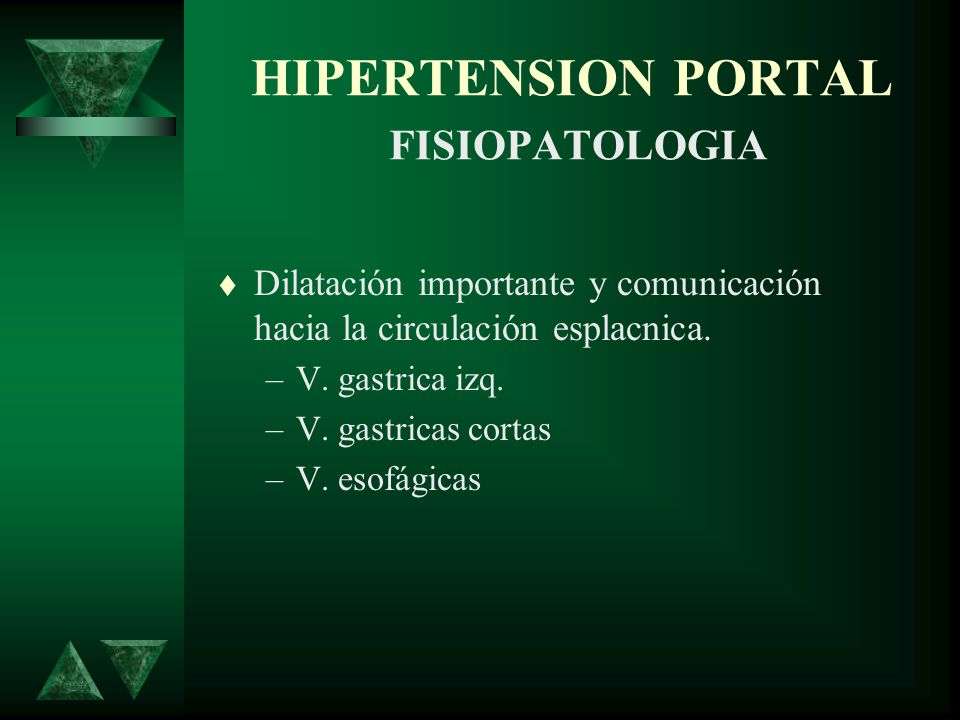 HIPERTENSION PORTAL FISIOPATOLOGIA