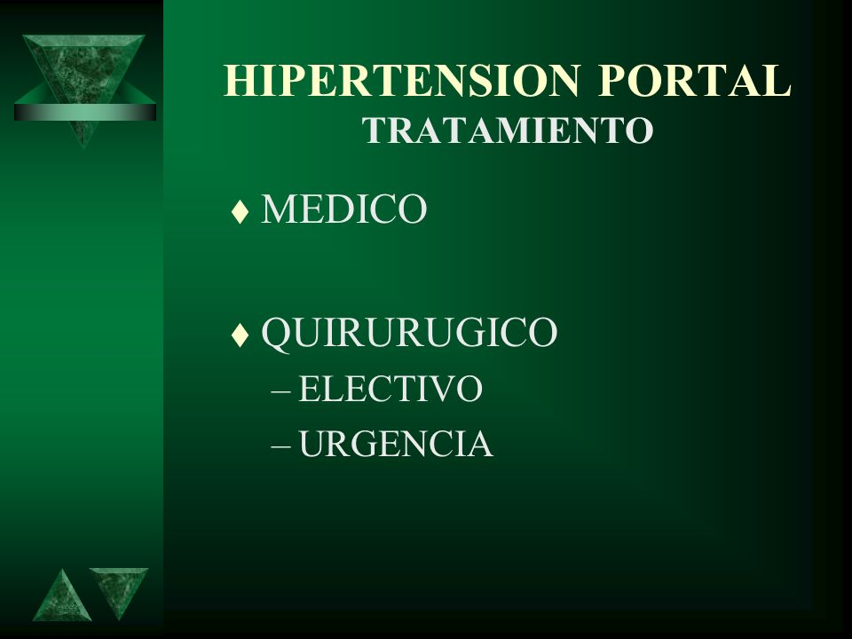 HIPERTENSION PORTAL TRATAMIENTO