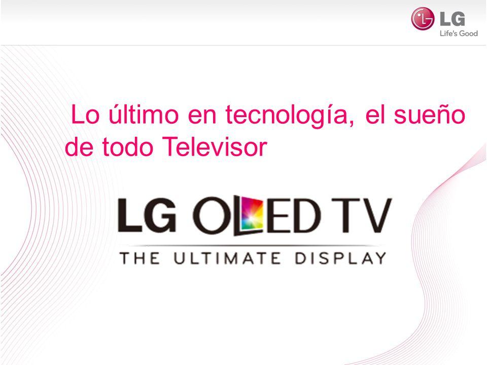 Lo último en tecnología, el sueño de todo Televisor