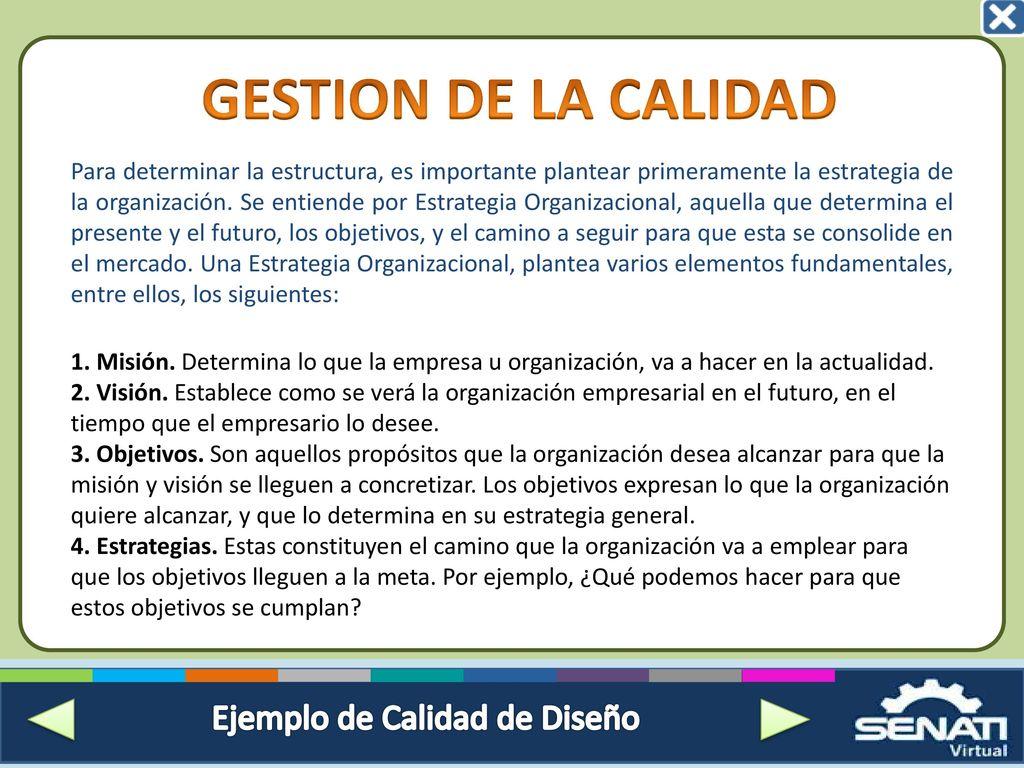 INTRODUCCIÓN A LA CALIDAD - ppt descargar