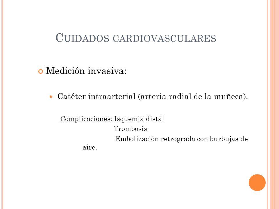 Cuidados cardiovasculares