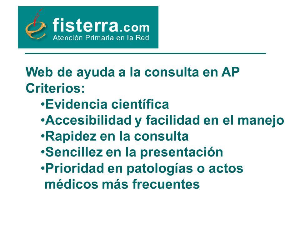 Web de ayuda a la consulta en AP