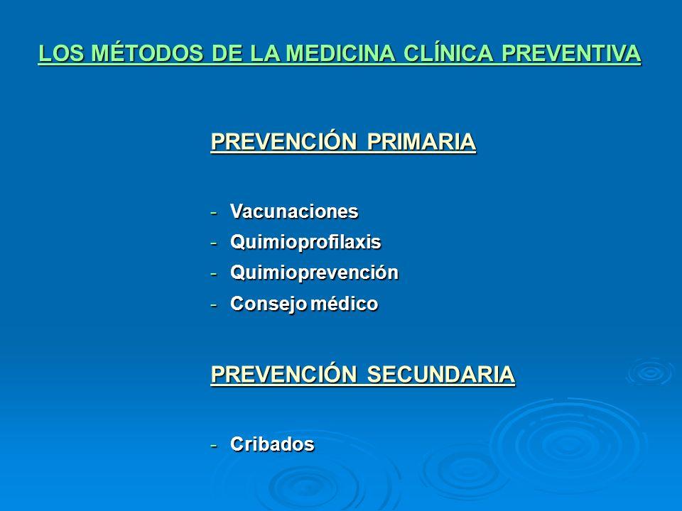 LOS MÉTODOS DE LA MEDICINA CLÍNICA PREVENTIVA