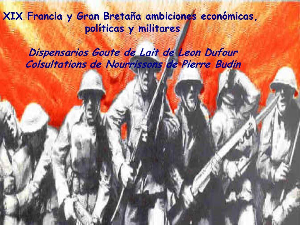 XIX Francia y Gran Bretaña ambiciones económicas,