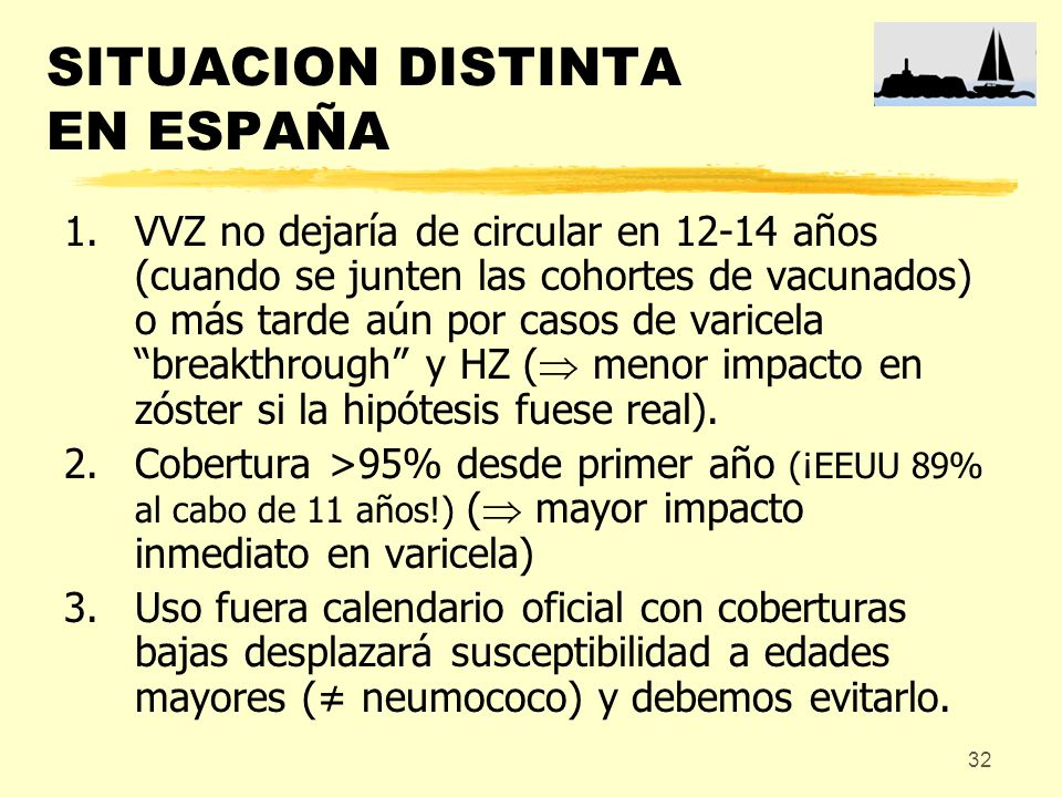 SITUACION DISTINTA EN ESPAÑA