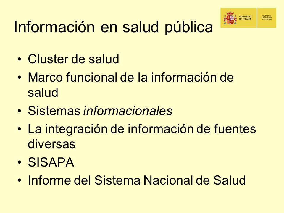 Información en salud pública
