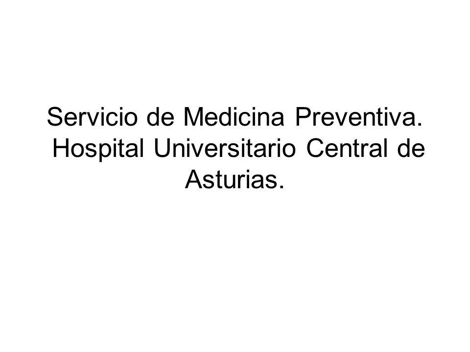 Servicio de Medicina Preventiva
