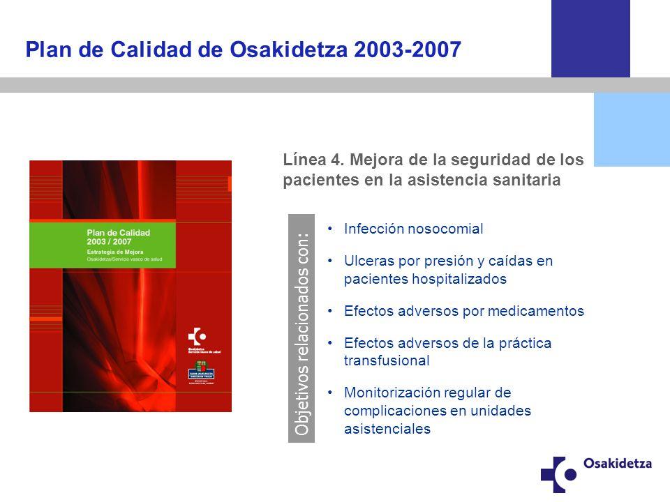 Plan de Calidad de Osakidetza 2003-2007