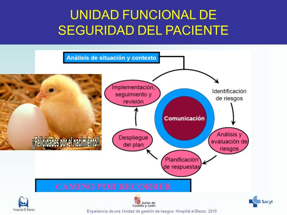 UNIDAD FUNCIONAL DE SEGURIDAD DEL PACIENTE