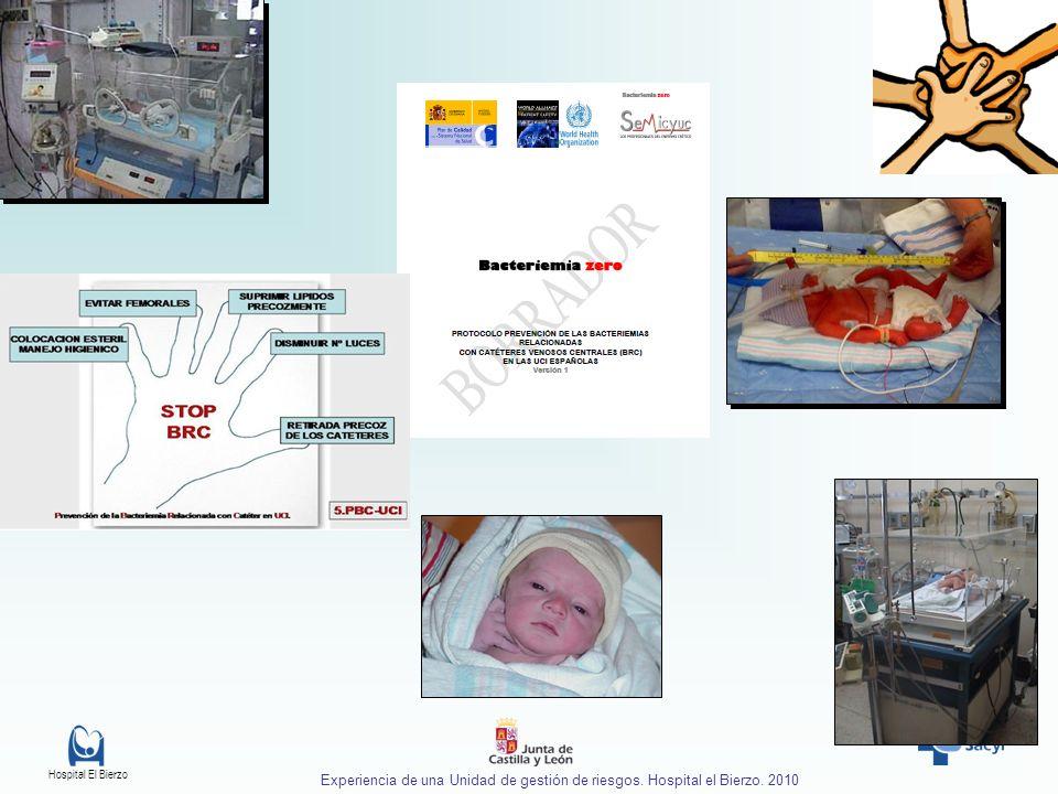Experiencia de una Unidad de gestión de riesgos. Hospital el Bierzo