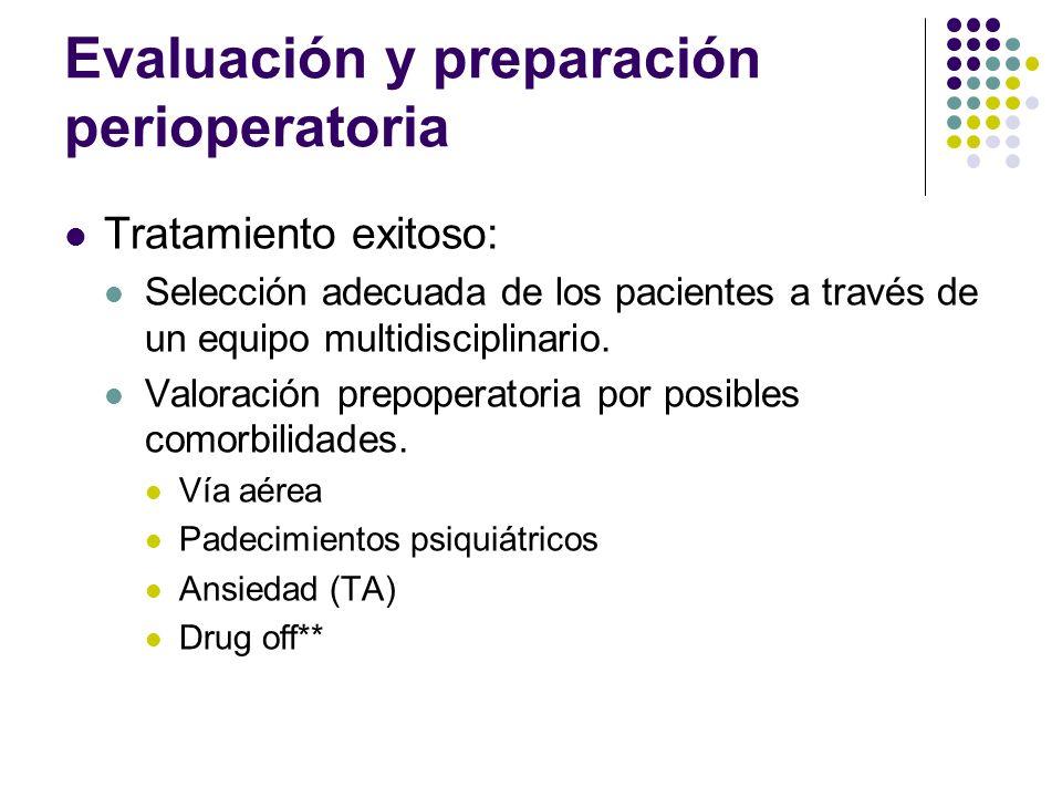Evaluación y preparación perioperatoria