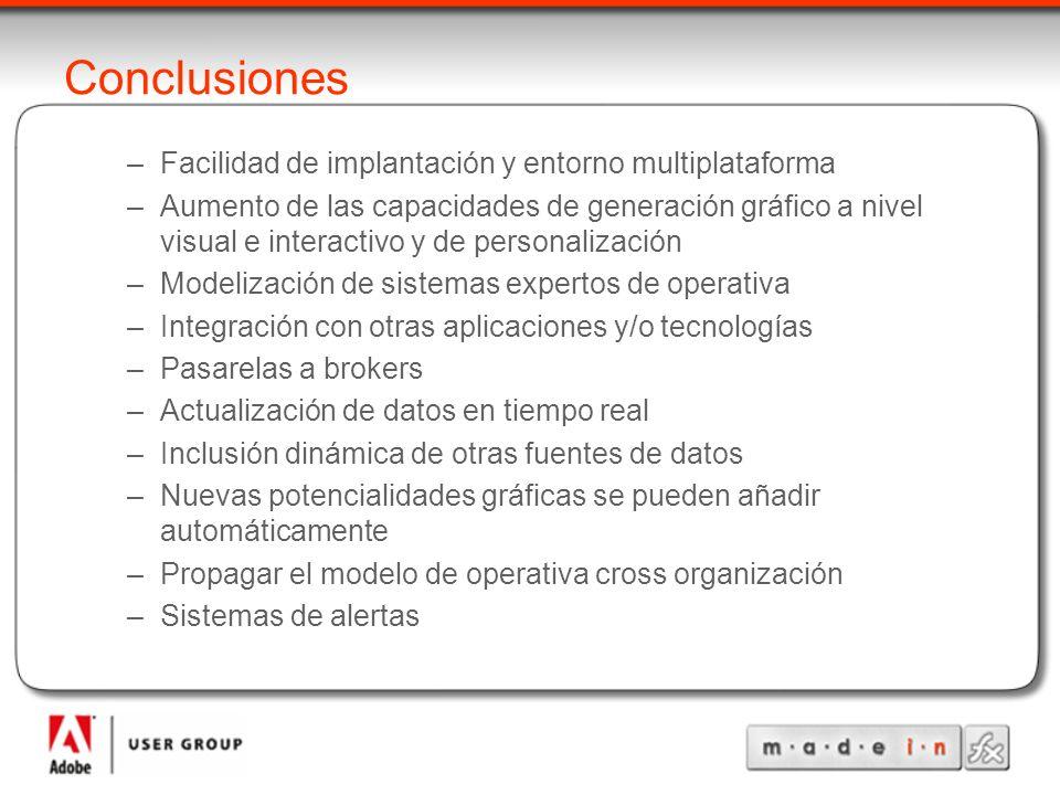 Conclusiones Facilidad de implantación y entorno multiplataforma