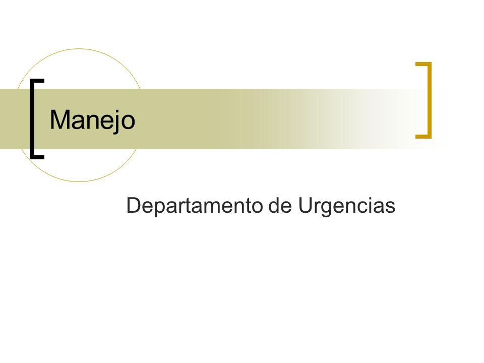 Departamento de Urgencias