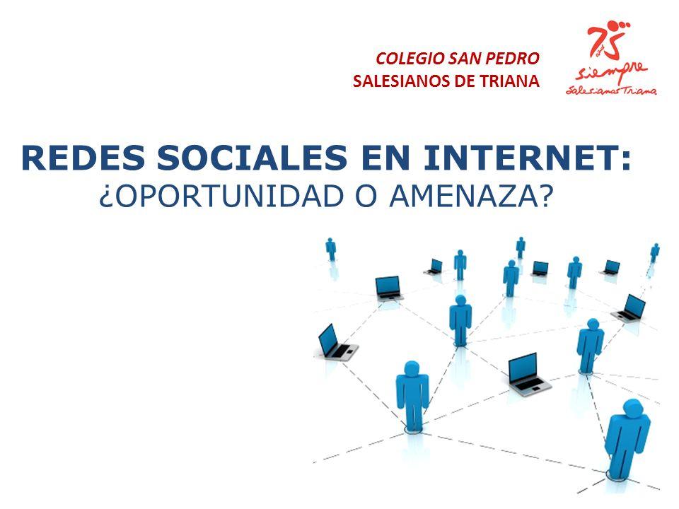 REDES SOCIALES EN INTERNET: ¿oportunidad o amenaza