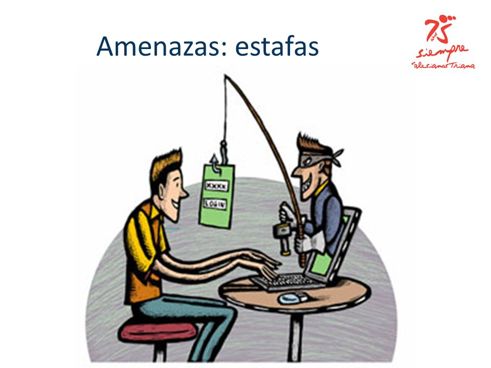 Amenazas: estafas
