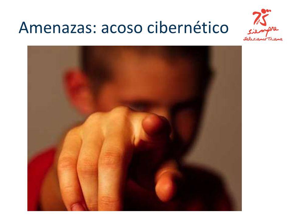 Amenazas: acoso cibernético