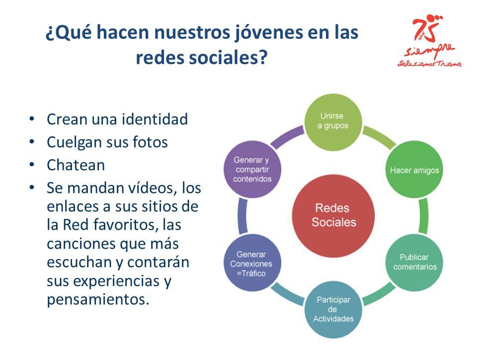 ¿Qué hacen nuestros jóvenes en las redes sociales