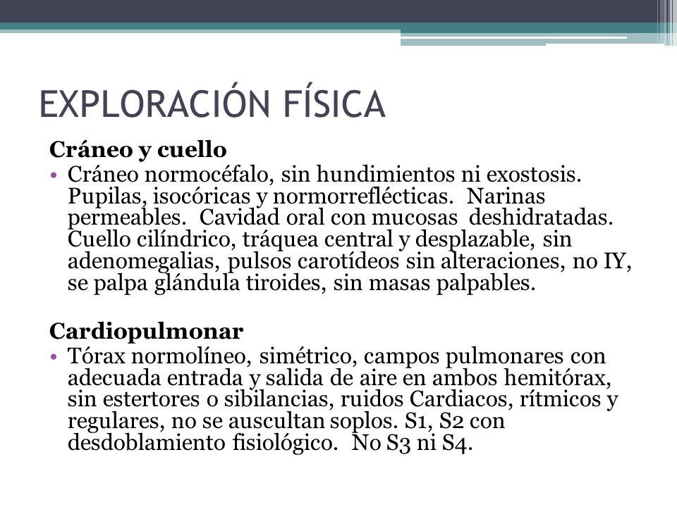 EXPLORACIÓN FÍSICA Cráneo y cuello