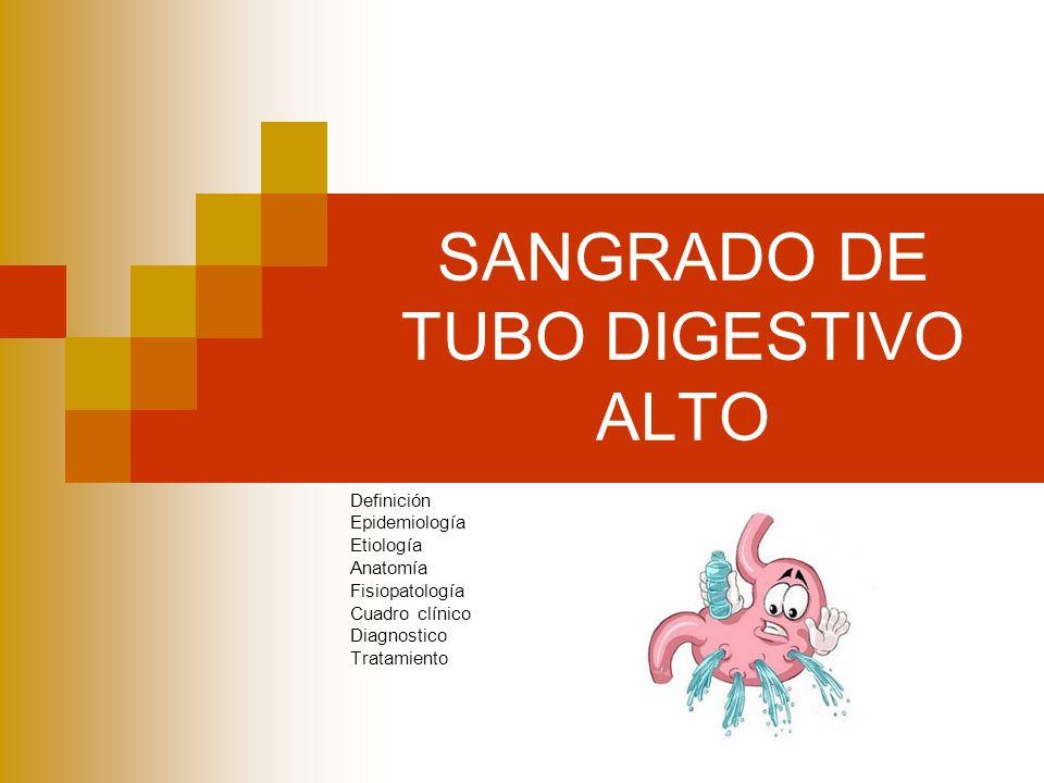 SANGRADO DE TUBO DIGESTIVO ALTO