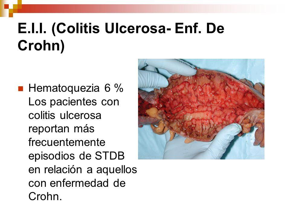 E.I.I. (Colitis Ulcerosa- Enf. De Crohn)
