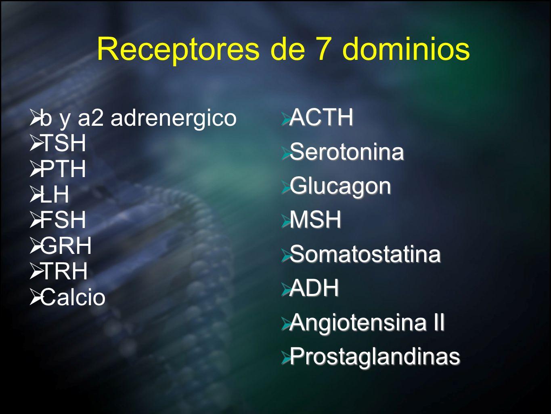 Receptores de 7 dominios