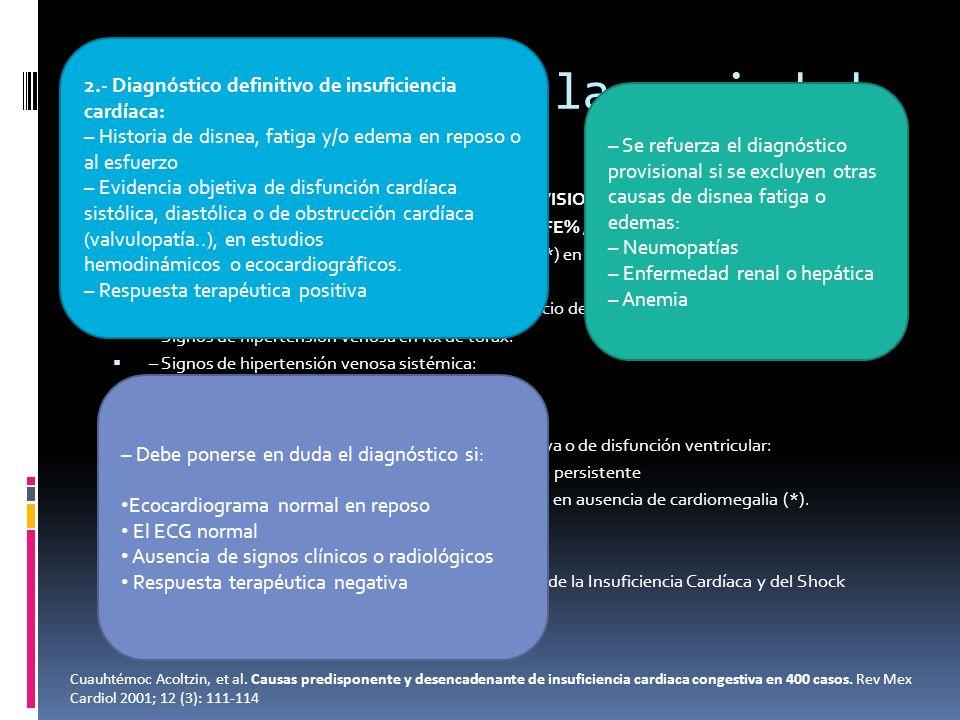 Criterios dx de la sociedad española