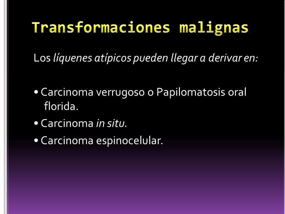 Transformaciones malignas
